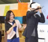 VR体験をした西島秀俊 (C)ORICON NewS inc.