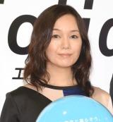 新型エアコン『Eolia』の新CM発表会に出席した奥貫薫 (C)ORICON NewS inc.