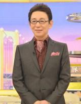 フジテレビ系新番組『フルタチさん』の初回収録後、囲み取材に出席した古舘伊知郎 (C)ORICON NewS inc.