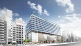 2017年4月20日に開業する、銀座6丁目再開発エリアの新商業施設「GINZA SIX」イメージ