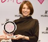 『HUBLOT LOVES WOMEN AWARD』を受賞した米倉涼子 (C)ORICON NewS inc.