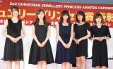 (左から)松村沙友理、白石麻衣、西野七瀬、生田絵梨花、生駒里奈 (C)ORICON NewS inc.