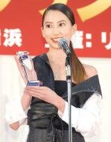『第2回クリスマスジュエリープリンセス賞』モデル部門で表彰された河北麻友子 (C)ORICON NewS inc.