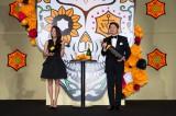 ヴーヴ・クリコ『イエロー・ウィン』プレスイベントに出席した(左から)熊切あさ美、ヒロミ