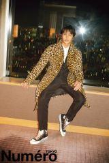 ファッション雑誌『Numero TOKYO』12月号に登場する中村蒼