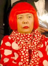 草間彌生氏、28年度文化勲章受章