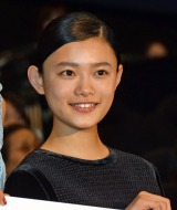 主演映画『湯を沸かすほどの熱い愛』初日舞台あいさつに登壇した杉咲花 (C)ORICON NewS inc.