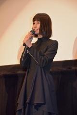 映画『バースデーカード』大ヒット御礼舞台あいさつに登壇した橋本愛 (C)ORICON NewS inc.