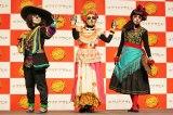 東京・渋谷で開催中の「SHIBUYA オトナHALLOWEEN PROJECT 2016」のメインイベント『インターナショナル仮装コンテスト』準グランプリ (C)oricon ME inc.