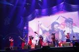 『日テレHALLOWEEN LIVE 2016』に出演したLittle Glee Monster(PHOTO:山内洋枝)