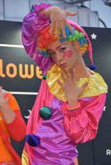 『AbemaTVハロウィンパーティー』にピエロの仮装で登場したりゅうちぇる (C)ORICON NewS inc.