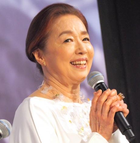 ABC創立65周年記念スペシャルドラマ『氷の轍』の制作発表会見に出席した宮本信子