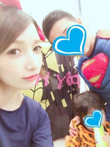 サムネイル 第2子妊娠を発表した後藤真希の家族ショット(写真はブログより)