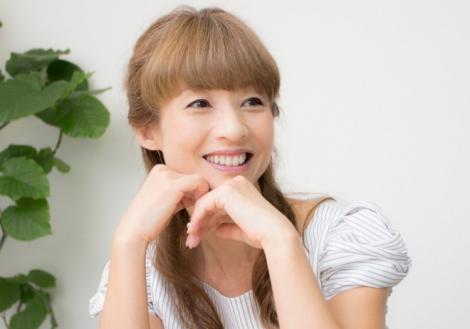 サムネイル インタビューに答える花田美恵子(写真:勝又義人) (C)oricon ME inc.