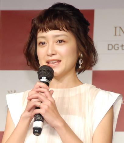 『DGセラム』PRイベントに出席した安達祐実 (C)ORICON NewS inc.