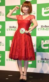 『ビデオの日』制定記念イベントに出席した中川翔子 (C)ORICON NewS inc.