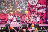 東京・お台場で開催されたハロウィン仮装パレード&ライブ『めざましテレビ presents T-SPOOK 〜TOKYO HALLOWEEN PARTY〜 2016』でライブパフォーマンスを披露したももいろクローバーZ