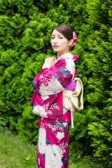 和装姿を披露した後藤真希(『新春すてきな奥さん2017年版』/主婦と生活社刊)
