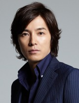 SMAPの草なぎ剛が主演する火曜9時ドラマ『嘘の戦争』に出演する藤木直人