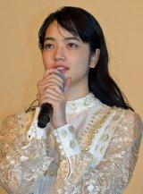 『溺れるナイフ』初日舞台あいさつに出席した小松菜奈 (C)ORICON NewS inc.