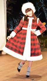 『コクーンシティ』クリスマスイルミネーション点灯式に出席した平祐奈 (C)ORICON NewS inc.