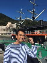 下田といえば、ペリー提督が黒船に乗って来航したことでも有名(C)テレビ朝日
