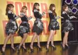 最新「夢幻クライマックス/愛はまるで静電気/Singing〜あの頃のように〜」を披露した℃-ute (C)ORICON NewS inc.