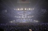 一面青に染まった武道館=『Eir Aoi 5th Anniversary Special Live 2016 〜LAST BLUE〜』より