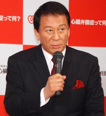 日本心臓財団プレスセミナーに出席した杉良太郎 (C)ORICON NewS inc.