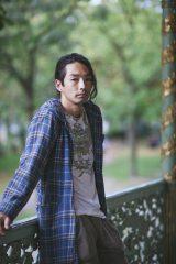 """夜公演ゲストの""""ダンサー""""森山未來 Photograph by Takeshi Miyamoto"""