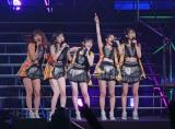 初の日本武道館公演を行ったJuice=Juice(左から)金澤朋子、植村あかり、宮本佳林、高木紗友希、宮崎由加