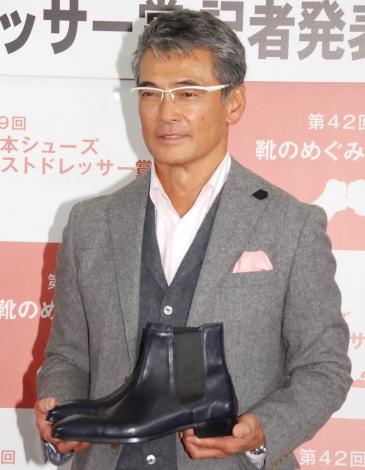 『第9回 シューズベストドレッサー賞』を受賞した渡辺裕之 (C)ORICON NewS inc.