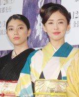 (左から)成海璃子、松雪泰子 (C)ORICON NewS inc.