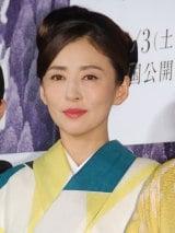 映画『古都』完成披露試写会舞台あいさつに出席した松雪泰子 (C)ORICON NewS inc.