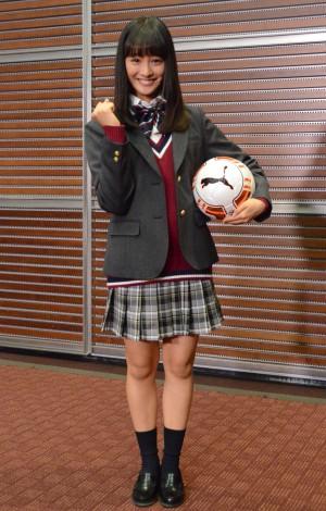 若手女優登竜門・第95回全国高校サッカー選手権大会の応援マネージャーは大友花恋(C)ORICON NewS inc.