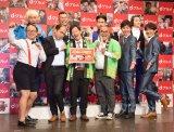 『ご当地グルメ総選挙47グランプリ発表&新コンテンツ発表イベント』の模様 (C)ORICON NewS inc.