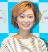 第4子妊娠を報告した市井紗耶香(C)ORICON NewS inc.