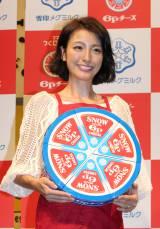 『チーズフェスタ2016』に登場した木下優樹菜 (C)oricon ME inc.