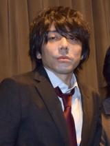 映画『裏切りの街』初日舞台あいさつに登壇した三浦大輔監督 (C)ORICON NewS inc.