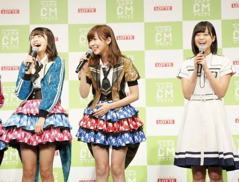 『HKT48vs欅坂46 つぶやきCMグランプリ』開催発表記者会見の模様