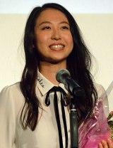 第8回『東宝シンデレラ』オーデションでアーティスト賞を受賞した崔愛花さん (C)ORICON NewS inc.