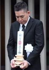 喪主を務めた息子の太田光 (C)ORICON NewS inc.