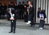 爆笑問題・太田光の御母堂・瑠智子さんの告別式がしめやかに (C)ORICON NewS inc.