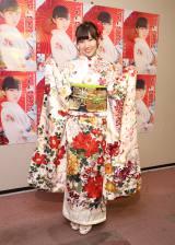 初のソロコンサートでAKB48卒業を発表した岩佐美咲(30日=東京・浅草公会堂)
