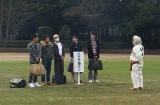 12月31日に放送される日本テレビ系年越し特番『絶対に笑ってはいけない科学博士24時!』ダウンタウンらおなじみのメンバーを笑撃のトラップが襲う(C)日本テレビ
