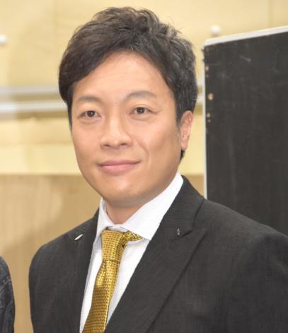 舞台『スルース〜探偵〜』合同取材会に出席した音尾琢真 (C)ORICON NewS inc.