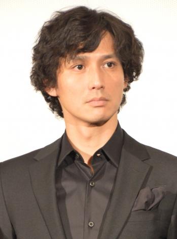 映画『貞子VS伽椰子』初日舞台あいさつに出席した安藤政信 (C)ORICON NewS inc.