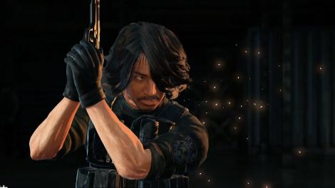 「Don't be Afraid -Biohazard×L'Arc-en-Ciel on PlayStation VR-」VRビューモード イメージ(画像はken)