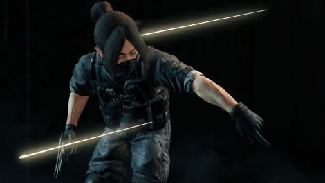 「Don't be Afraid -Biohazard×L'Arc-en-Ciel on PlayStation VR-」VRビューモード イメージ(画像はyukihiro)