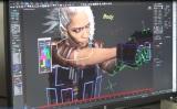 「Don't be Afraid -Biohazard×L'Arc-en-Ciel on PlayStation VR-」VRMVメイキングより(hyde)